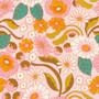 CLOUD 9, Good Vibrations - Bundle of 8 Fabrics ORGANIC Cotton,  ELEGANTE VIRGULE, CANADIAN FABRIC SHOP