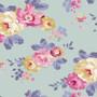 TILDA Maple Farm in DIJON / TEAL, Fat Quarter Bundle of 5 Fabrics - Elegante Virgule Canada