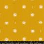 RUBY STAR SOCIETY, GOLDEN HOUR SUNRISE in Goldenrod,  ELEGANTE VIRGULE, CANADIAN FABRIC SHOP