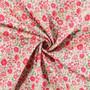 LIBERTY OF LONDON - D'ANJO A Red 100% Cotton Tana Lawn, Per Half-Meter, CANADIAN FABRIC SHOP. LIBERTY IN CANADA, Elegante Virgule