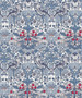 LIBERTY OF LONDON - STRAWBERRY THIEF Spring A 100% Cotton Tana Lawn, Per Half-Meter. Elegante Virgule Canada, CANADIAN FABRIC SHOP. Quilt Shop
