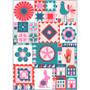 The Thread House Folk Dance BOM Quilt Kit - ELEGANTE VIRGULE CANADA, Canadian Fabric Shop, Quilting Cotton