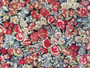 LIBERTY OF LONDON - CHIVE R Red Green & Blue 100% Cotton Tana Lawn, Per Half-Meter. CANADIAN SHOP. LIBERTY IN CANADA, Elegante Virgule, Quilting Shop