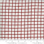 MODA SWEETWATER Animal Crackers PLAID in Apple Red - ELEGANTE VIRGULE CANADA, CANADIAN FABRIC SHOP, Quilting Cotton