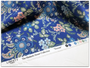 LIBERTY OF LONDON Quilting cotton, Fireside X in Navy Blue and Pink - ELEGANTE VIRGULE CANADA, Canadian Quilt Shop, Quilting cotton