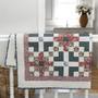"LIBERTY OF LONDON, SUMMER CROSSING Quilt Kit 60"" x 60"" (150 x 150 cm) - Elegante Virgule Canada, Canadian Fabric Quilt Shop, Quilting Cotton"