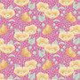 TILDA GARDENLIFE, Poppies in Pink - Elegante Virgule Canada, Quilting Cotton