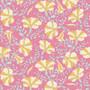 TILDA GARDENLIFE, Stripe Petunia - Elegante Virgule Canada, Quilting Cotton