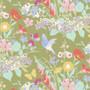 TILDA GARDENLIFE in Green - Elegante Virgule Canada, Quilting Cotton