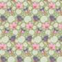 TILDA GARDENLIFE, Nasturtium - Elegante Virgule Canada, Quilting Cotton