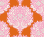 TILDA HARVEST,  Flower Tree in Ginger - Elegante Virgule Canada, Quilting Cotton, Canadian Quilt Shop