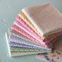 TILDA Meadow, Bundle of 10 fabrics, 100% Cotton. TILDA BASICS, Elegante Virgule Canada, Canadian Quilt Shop, Quilting Cotton