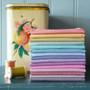 TILDA Chambray Basics, FQ Bundle of 15 fabrics, 100% Cotton. TILDA BASICS, Elegante Virgule Canada, Canadian Quilt Shop, Quilting Cotton