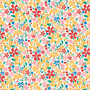 LIBERTY FABRICS, CARNABY COLLECTION Bohemian Brights - Bohemiam Bloom C Yellow - by the half-meter - ELEGANTE VIRGULE CANADA, Canadian Quilting Shop - Liberty of London, Quilting Cotton