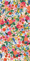 RIFLE PAPER CO, WILDWOOD Petite Garden Party in Pink, 100% RAYON - by the half-meter -  ELEGANTE VIRGULE CANADA, CANADIAN FABRIC SHOP, QUILTING SHOP