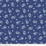LIBERTY FABRICS, CARNABY COLLECTION Retro Indigo - Portobello Paisley  B Navy Blue - by the half-meter - ELEGANTE VIRGULE CANADA, Canadian Quilting Shop - Liberty of London, Quilting Cotton
