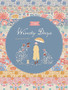TILDA WINDY DAYS Aella in Teal - Elegante Virgule Canada, Quilting Cotton, Montreal Quebec Quilt Shop