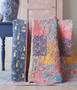 "TILDA WINDY DAYS - Whimsy Blue Quilt Kit 58"" x 75"" (146 x 192cm) - Elegante Virgule Canada - Canadian Fabric shop, Quilting Cotton, Basic Quilt"