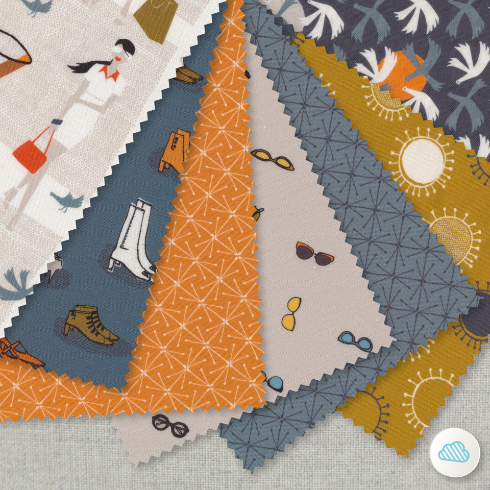 CLOUD 9 Fabrics, LISBON GARDEN