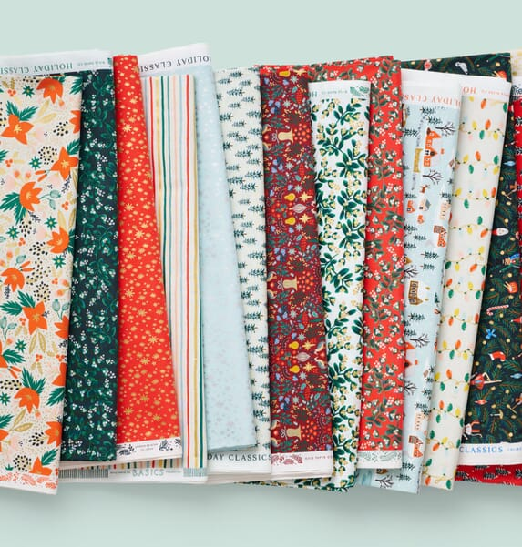 RIFLE PAPER CO Fabric, Elegante Virgule Canada, Quilting Cotton Shop