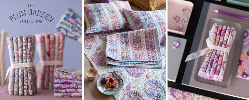 Plum Garden Collection by Tilda Fabrics - Elegante Virgule Canada