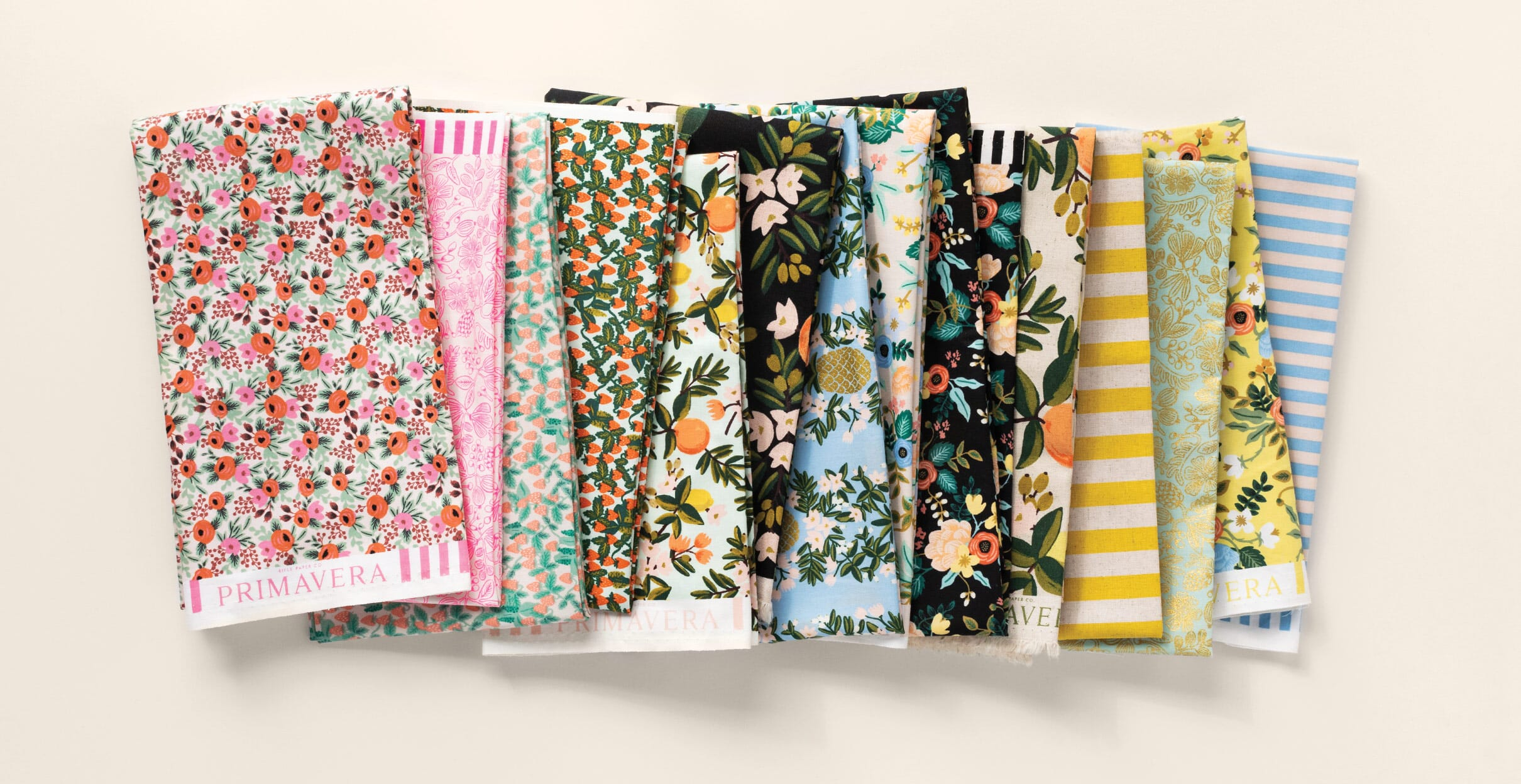 RIFLE PAPER CO Fabric, Primavera Collection