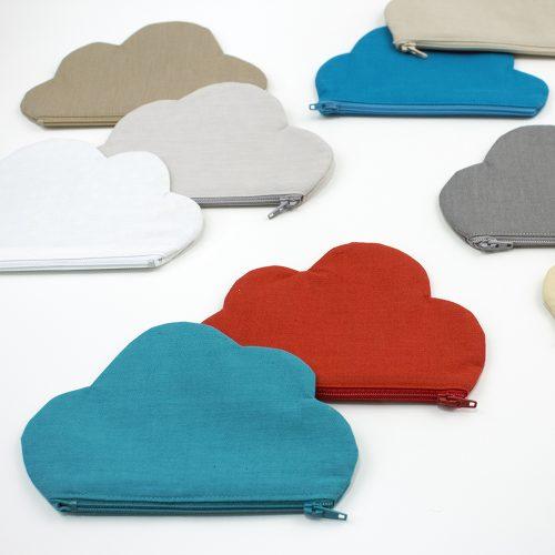 Cloud 9 Cirrus Solids - Zippy Cloud Pouch, Free Pattern