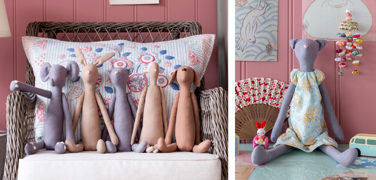 TILDA Doll Fabrics & Hair