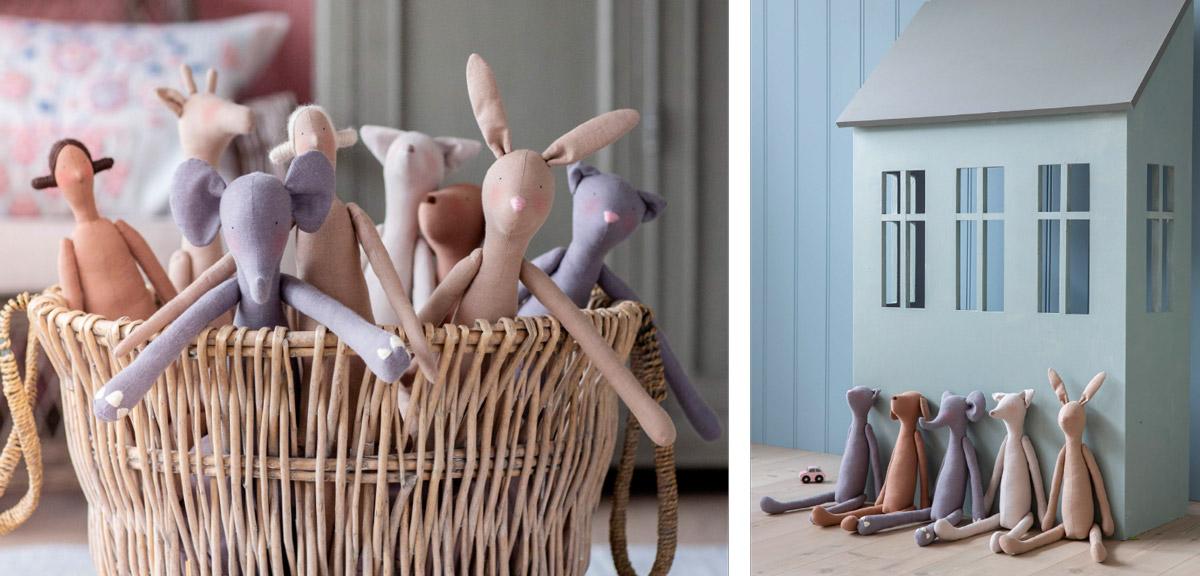 TILDA Doll Fabrics - ELEGANTE VIRGULE CANADA