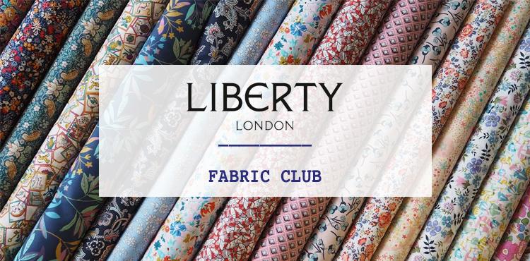 LIBERTY OF LONDON FABRIC. CLUB