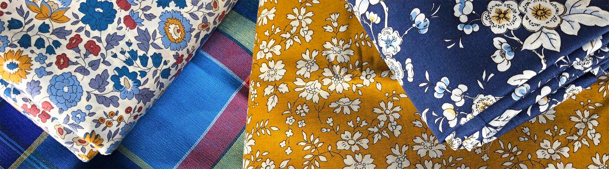 Liberty and Madras Fabrics, ELEGANTE VIRGULE Canada