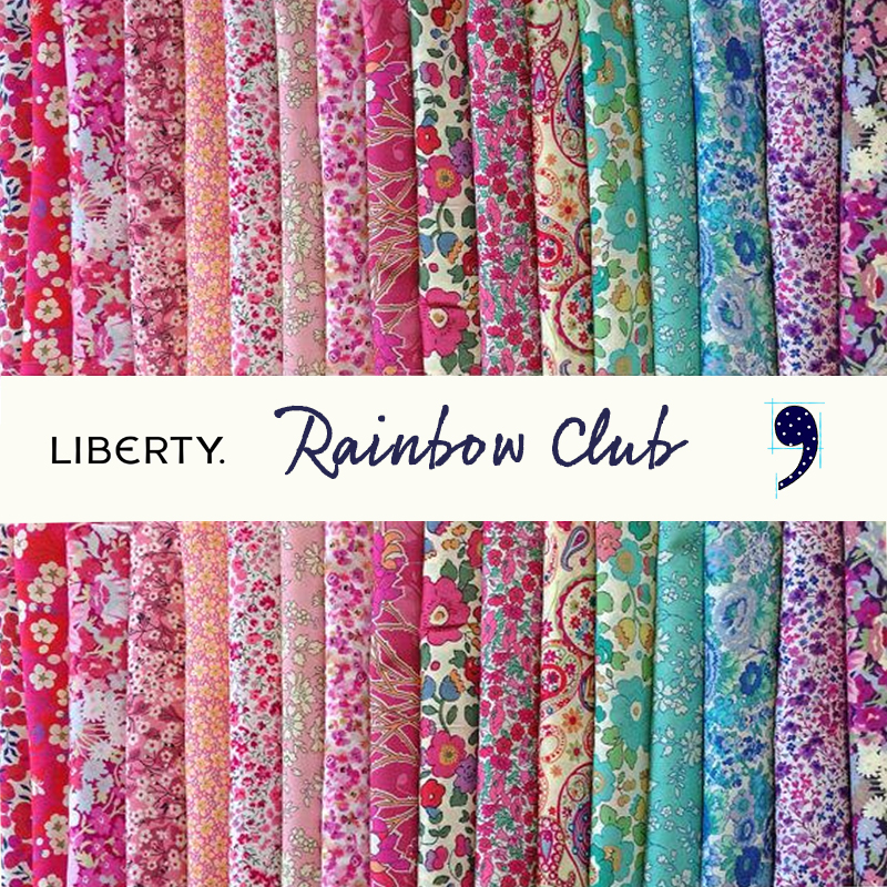 Liberty Fabrics Club, LIBERTY OF LONDON Fabrics Canada, Elegante Virgule, Canadian Fabric Shop, Quilt Shop, Tana Lawn Cotton