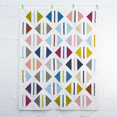 Cloud 9 Cirrus Solids - PARCEL QUILT Free Pattern