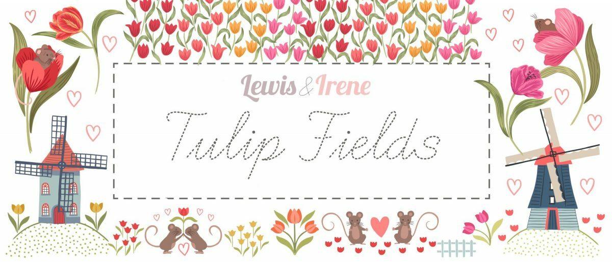 Tulip Fields by LEWIS & IRENE, Elegante Virgule Canada