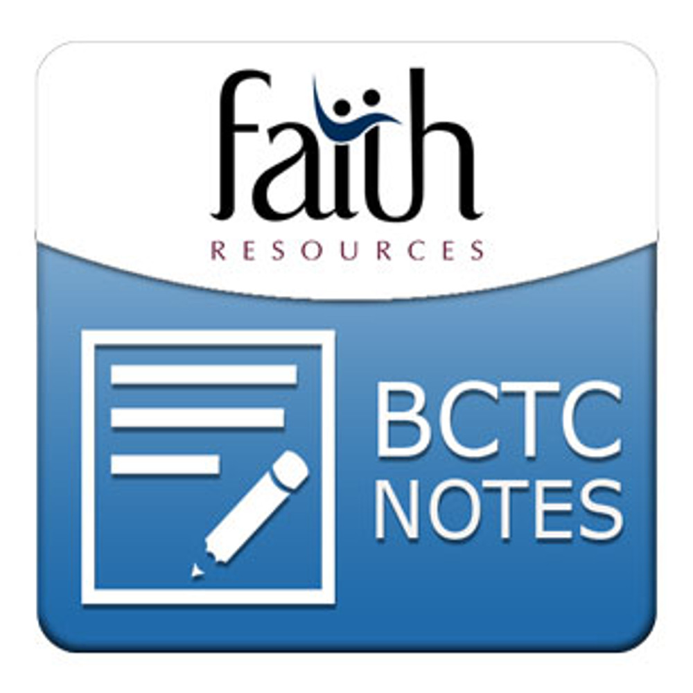 Staying Alive Spiritually Student Outline PDF