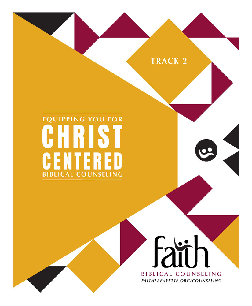 Track 2 Notebook Biblical Counseling Training Conference