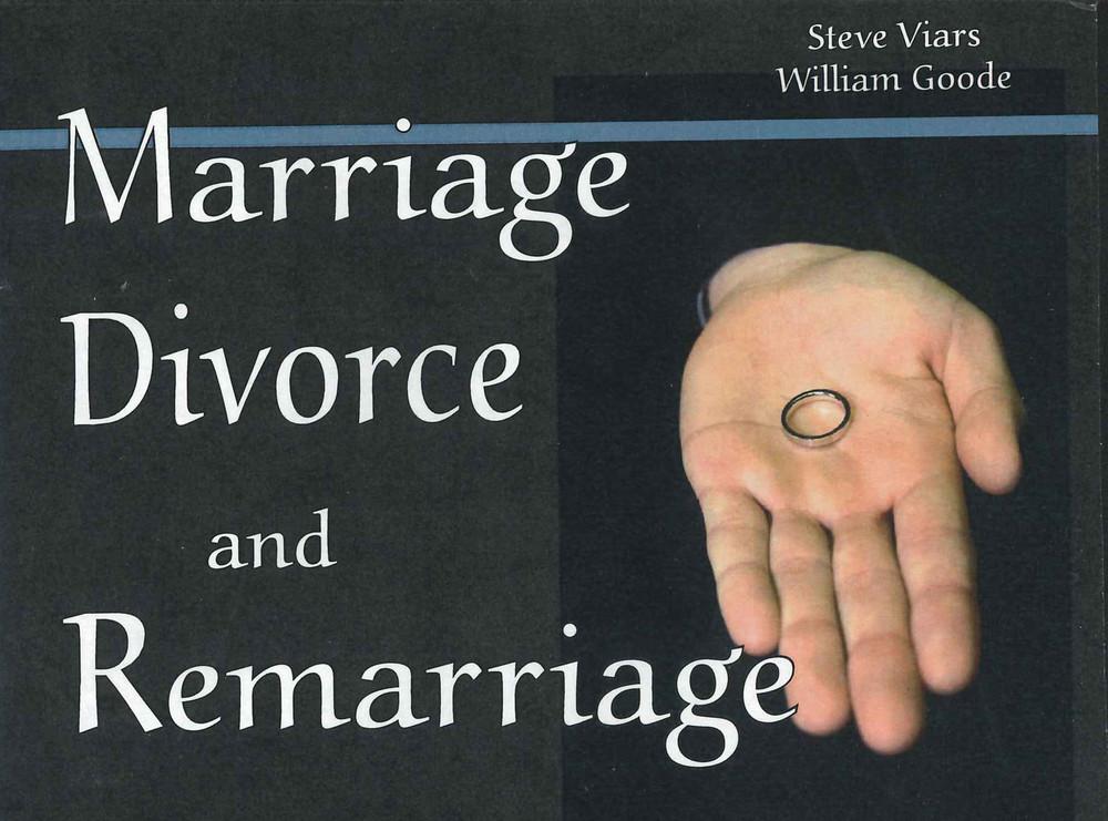 Marriage, Divorce & Remarriage - CD Series