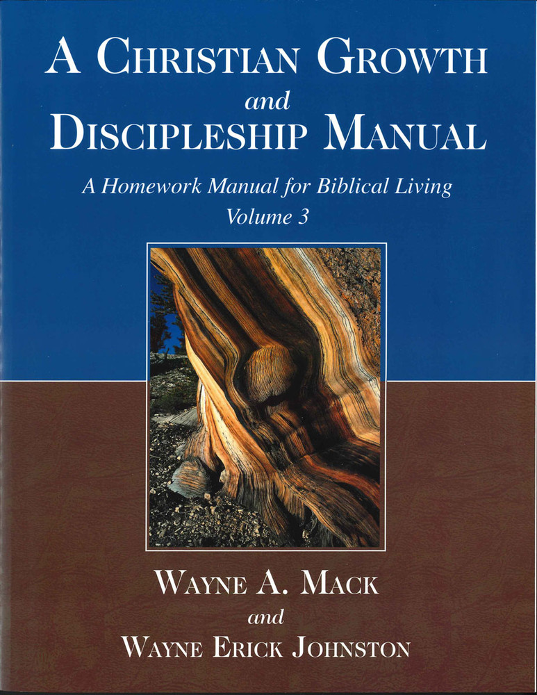Christian Growth and Discipleship Manual