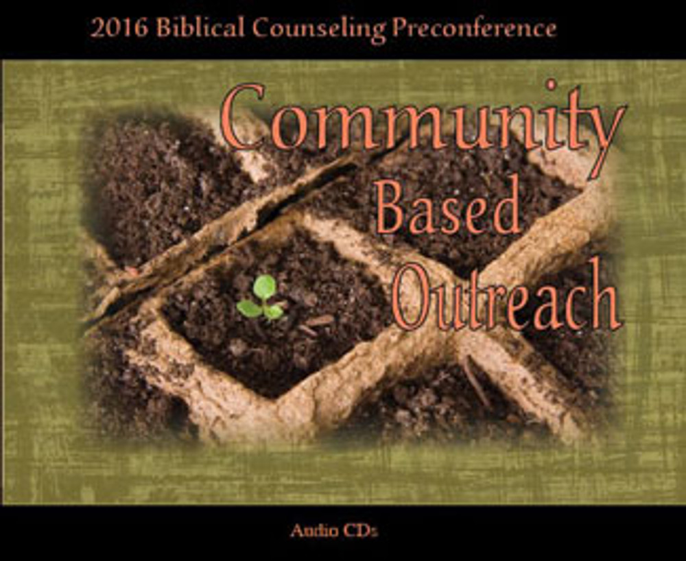 Community Based Outreach 2016 Preconference CD Set