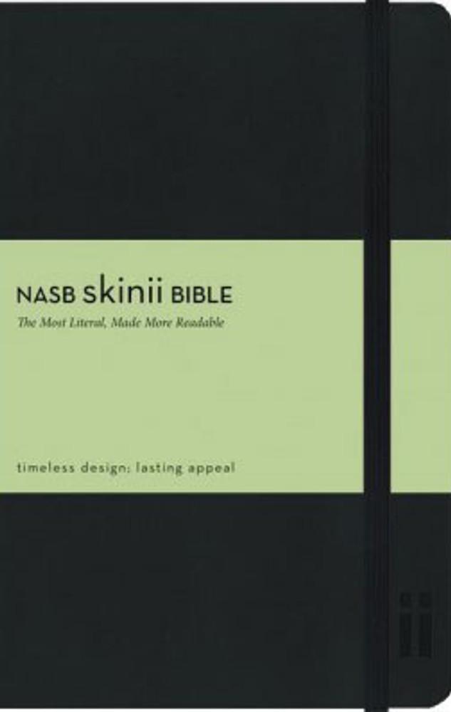 NASB Skinii Bible - Black