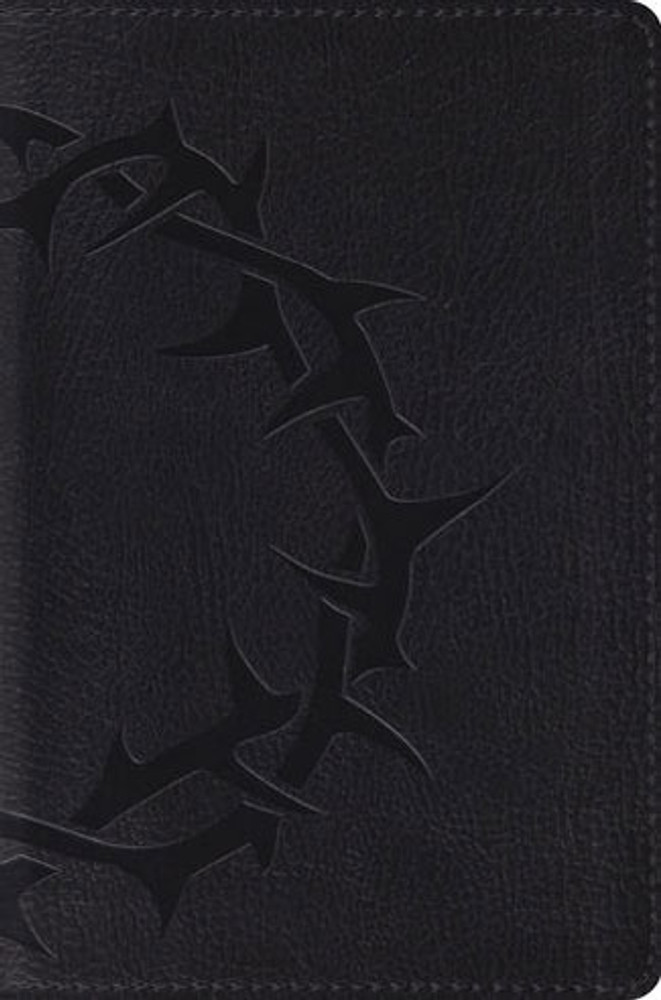 ESV Compact Bible  (TruTone,Charcoal, Crown)