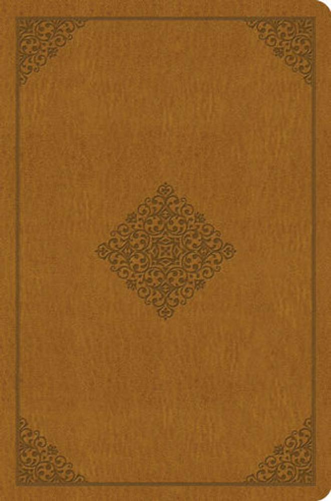 ESV Value Compact Bible  (TruTone, Goldenrod, Ornament)