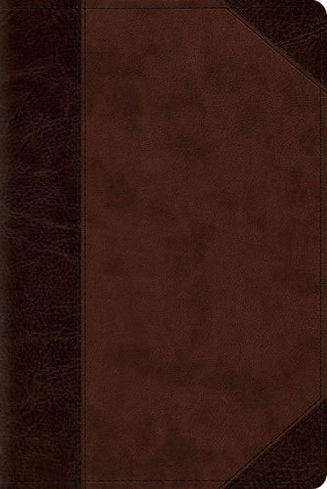 ESV Personal Size Reference Bible (TruTone, Walnut)