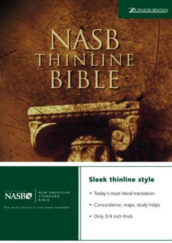 NASB Thin Bible - Paperback