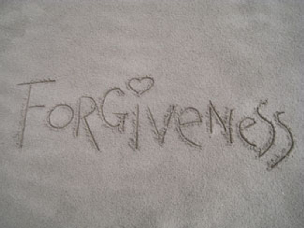 God's Plan for Forgiveness