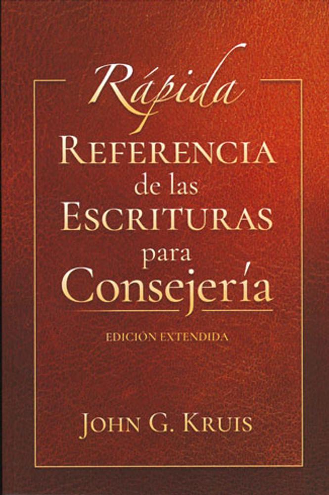 Rápida Referencia de las Escrituras para Consejería (Quick Scripture Reference for Counseling)