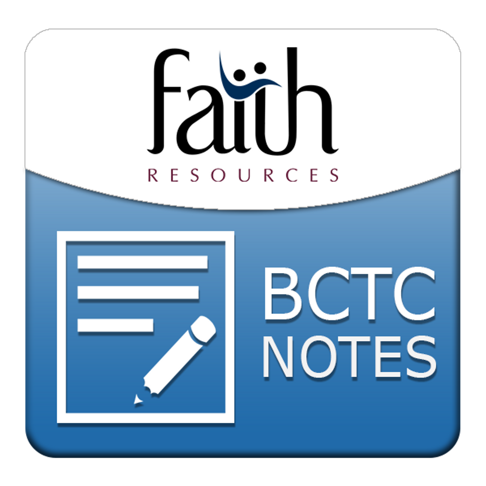 Changing Lives with Christ's Changeless Truths - Sessions 1 & 2 Student Outline PDF