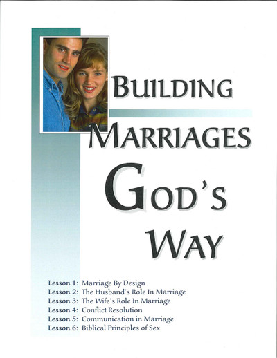 Building Marriages God's Way