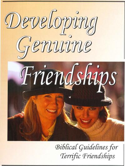 Developing Genuine Friendships