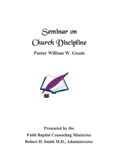 Seminar on Church Discipline